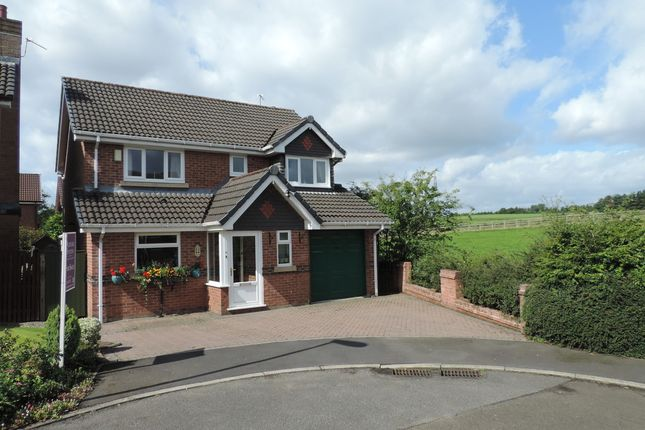 Thumbnail Detached house for sale in Broadbent Close, Royton, Oldham