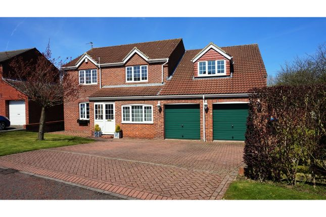 Thumbnail Detached house for sale in Berwick Chase, Peterlee