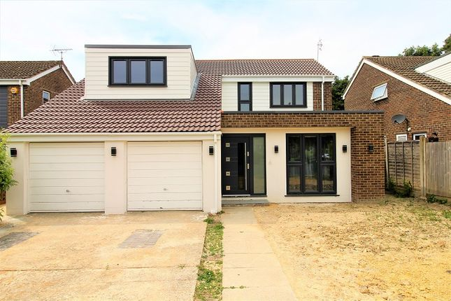 Thumbnail Detached house for sale in Normanhurst Close, Crawley, West Sussex.