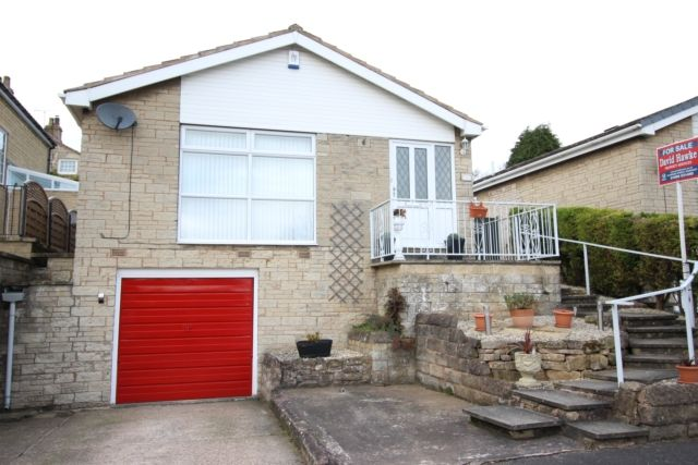 Thumbnail Detached bungalow for sale in The Greenway, Whitwell, Worksop