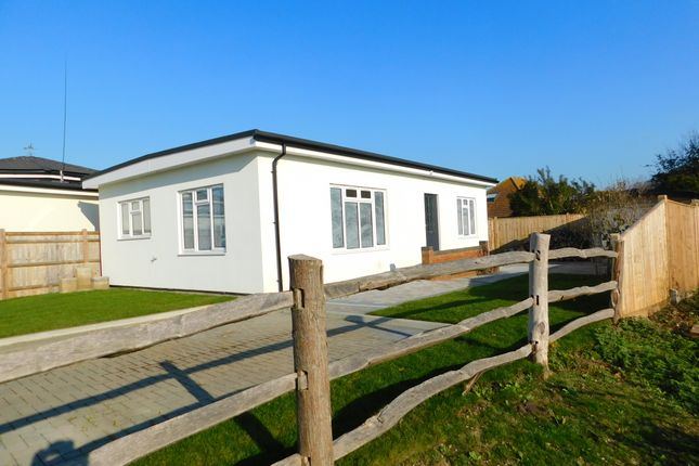 Thumbnail Bungalow for sale in Coast Road, Pevensey Bay