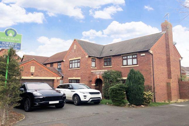 Thumbnail Detached house for sale in Lady Grey Avenue, Warwick, Warwick
