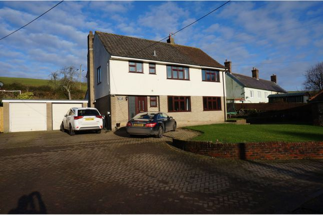 Thumbnail Detached house for sale in Winterborne Houghton, Blandford Forum