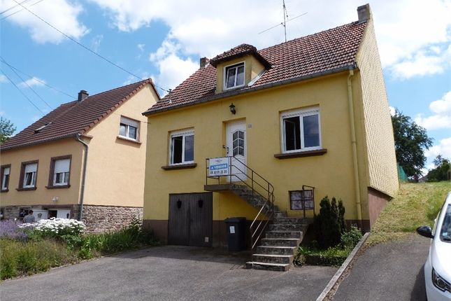 Detached house for sale in Lorraine, Moselle, Rohrbach Les Bitche