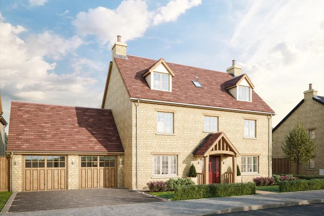 Thumbnail Detached house for sale in Weston-On-The-Green, Oxfordshire OX25.