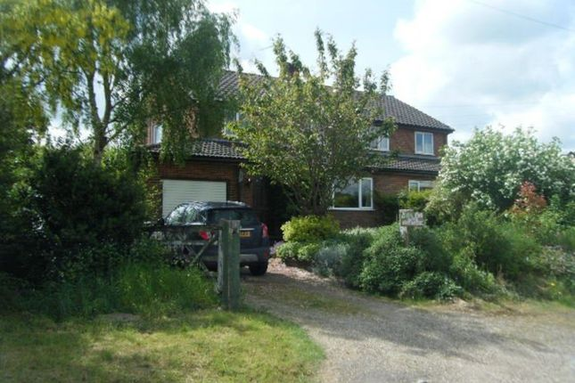 Thumbnail Semi-detached house for sale in Low Street, Wicklewood, Wymondham