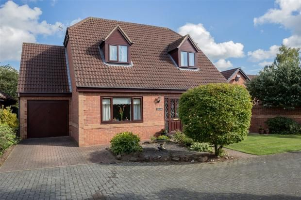 Thumbnail Detached house for sale in The Gardens, Bessacarr, Doncaster