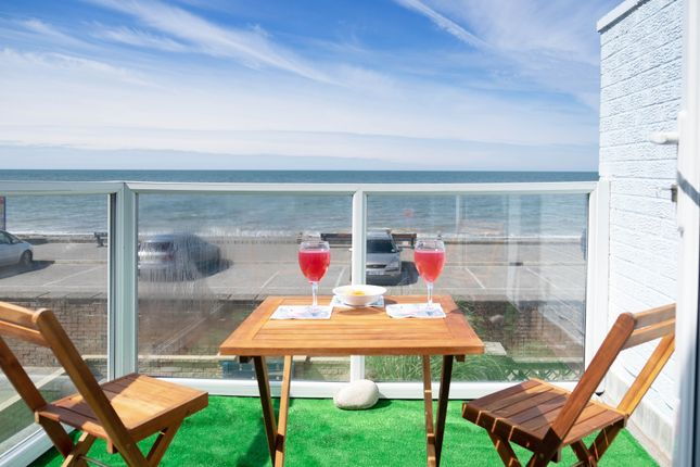 Thumbnail Terraced house for sale in Rossall Promenade, Thornton-Cleveleys