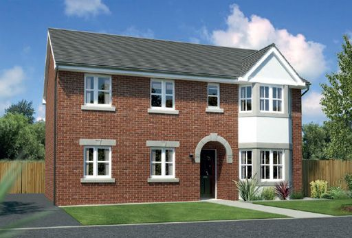 "Thumbnail Detached house for sale in ""Hollandswood"" At Arrowe Park Road, Upton, Wirral CH49, Upton, Wirral,"