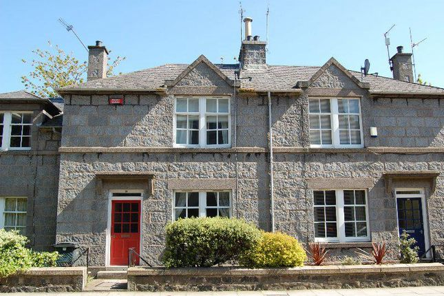 Thumbnail Terraced house to rent in Crimon Place, Aberdeen