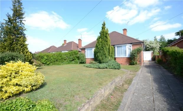 Thumbnail Detached bungalow for sale in Hazel Avenue, Farnborough, Hampshire