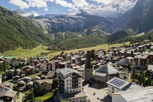 Thumbnail Apartment for sale in Haus Sibylle, Saas Fee, Valais, Switzerland