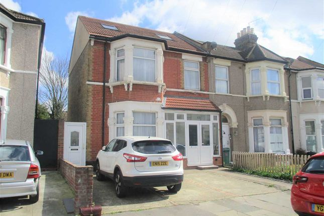 Thumbnail End terrace house for sale in Dalkeith Road, Ilford, Ilford