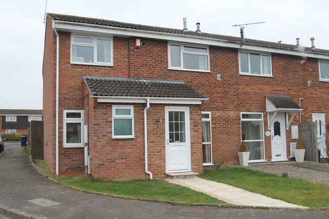 Thumbnail End terrace house for sale in Lincoln Close, Tewkesbury