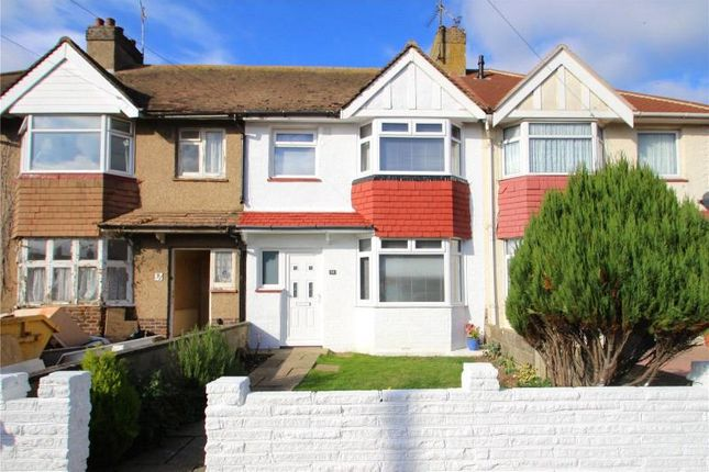 Thumbnail Terraced house for sale in Hillrise Avenue, Sompting, West Sussex