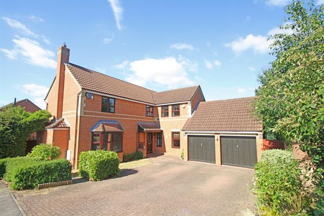 Thumbnail Detached house for sale in Protheroe Field, Old Farm Park, Milton Keynes