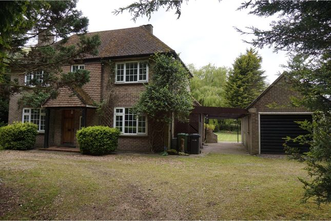Thumbnail Detached house for sale in Chilver House Lane, King's Lynn
