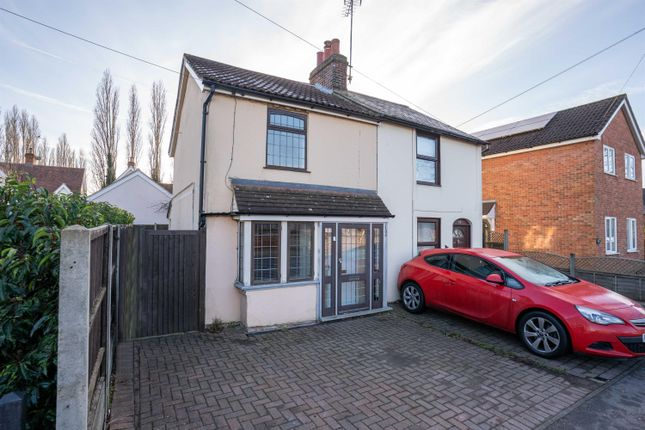 Thumbnail Semi-detached house to rent in Dunmow Road, Bishops Stortford, Herts