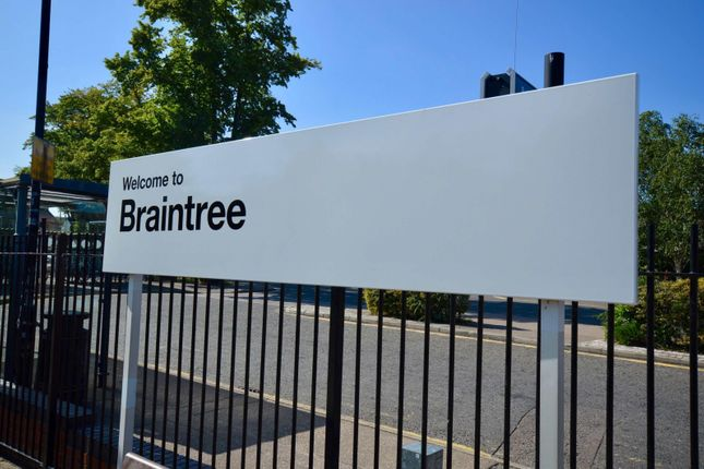 Braintree Sign of Riverside Development, Braintree CM7