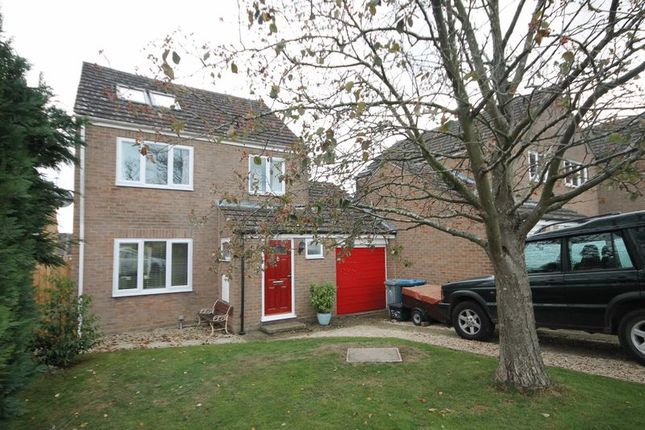 Thumbnail Detached house for sale in Holliers Crescent, Middle Barton, Chipping Norton