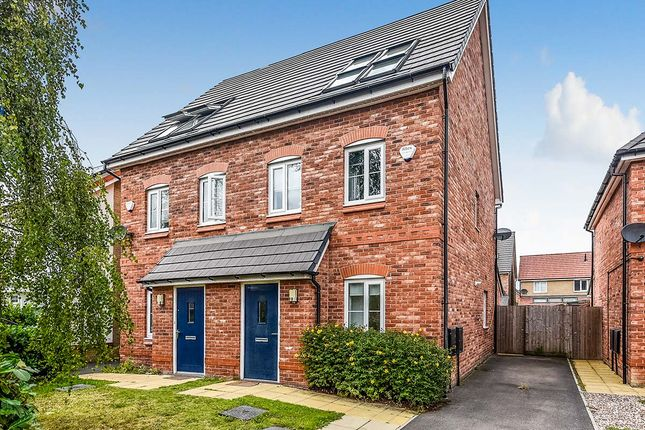 Thumbnail Semi-detached house for sale in Raffia Way, Walton, Liverpool