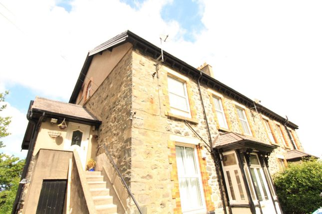 Thumbnail Maisonette for sale in Penmaenmawr Road, Llanfairfechan
