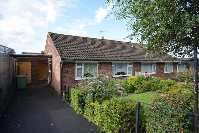 Thumbnail Semi-detached bungalow for sale in Dark Lane, North Wingfield, Chesterfield