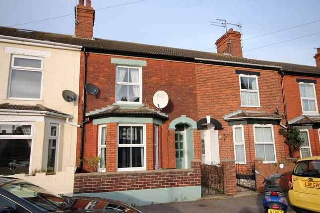 Thumbnail Terraced house to rent in Osborne Street, Lowestoft