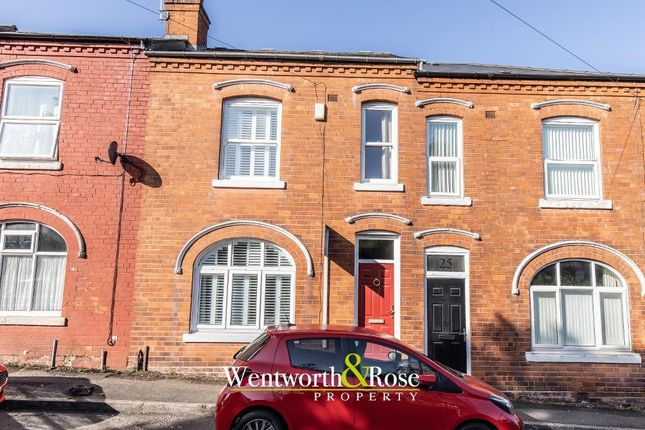 Thumbnail Terraced house for sale in North Road, Harborne, Birmingham