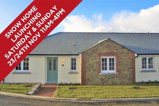 Thumbnail Semi-detached bungalow for sale in Chapel Meadow, Haye Road, Callington, Cornwall