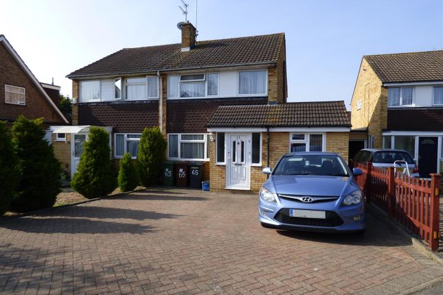 Thumbnail Semi-detached house for sale in Chandos Road, Borehamwood