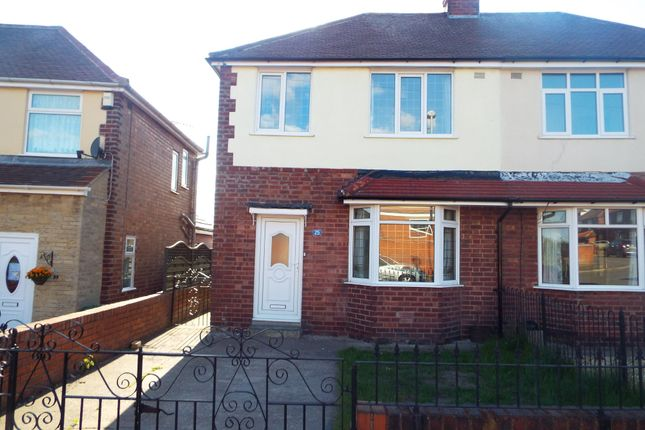 Thumbnail Semi-detached house to rent in Raines Park Road, Worksop