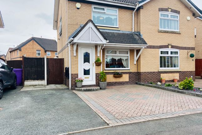 Thumbnail Semi-detached house for sale in Lindisfarne Drive, Liverpool