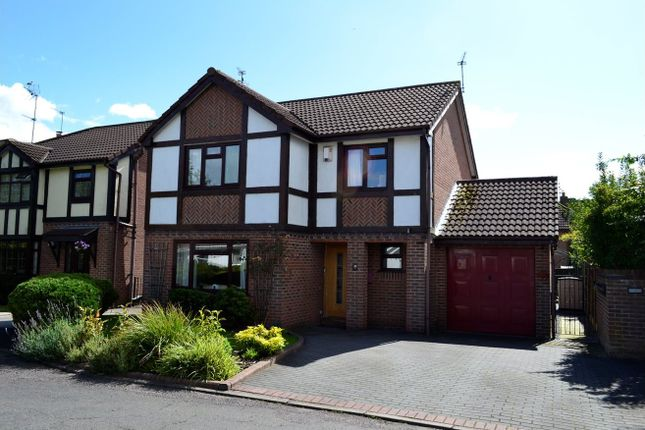 Thumbnail Detached house for sale in Redshank Avenue, Darnhall