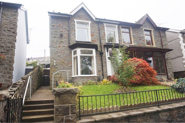 Thumbnail Semi-detached house for sale in Aberdare Road, Mountain Ash