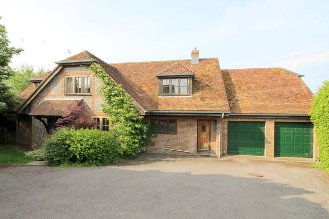 Thumbnail Detached house to rent in Itchen Stoke, Alresford