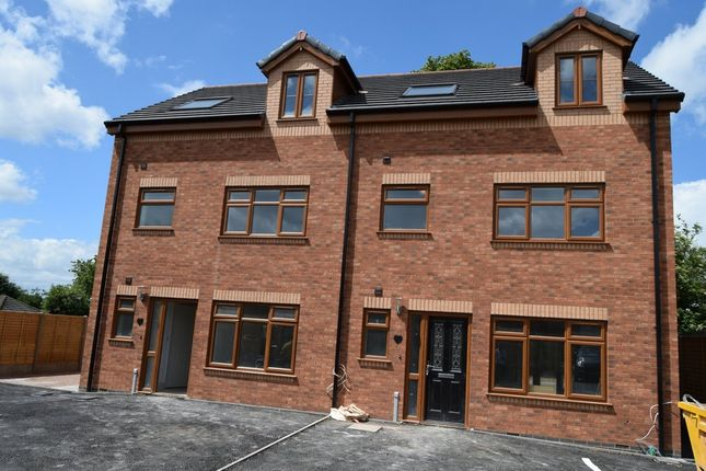 Thumbnail Semi-detached house for sale in Tilia Close, Off Nursery Road, Leicester