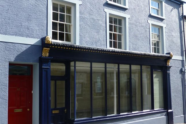 Retail premises for sale in London House, St. James Street, Narberth, Pembrokeshire