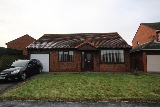 Thumbnail Detached bungalow for sale in Leander Drive, Boldon Colliery