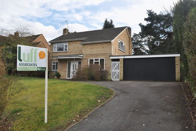 Thumbnail Detached house to rent in The Fairway, Frimley, Camberley