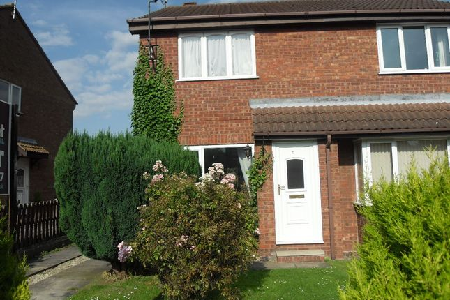 Thumbnail Semi-detached house to rent in Bracken Road, Driffield