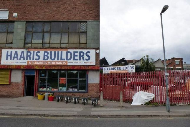 Thumbnail Retail premises for sale in 181c Percy Road, Birmingham