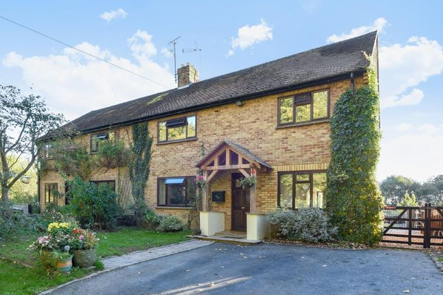 Thumbnail Semi-detached house for sale in Little Haseley, Oxfordshire OX44,