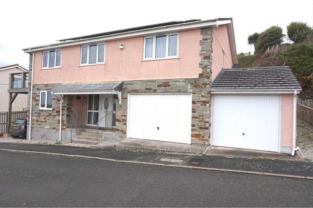 Thumbnail Detached house for sale in Whitsand Bay View, Portwrinkle, Torpoint