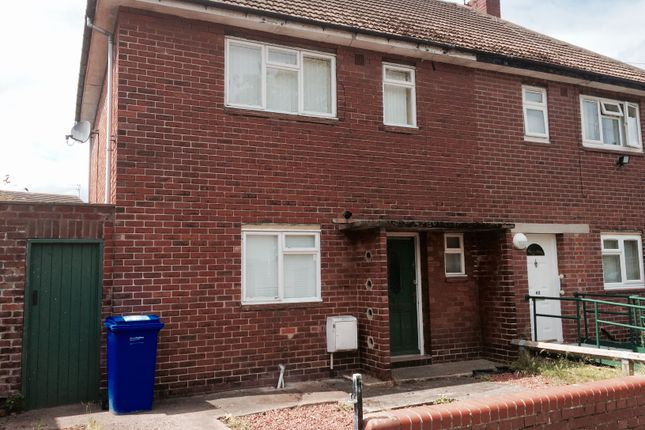 Thumbnail Semi-detached house to rent in Leaholme Crescent, Blyth