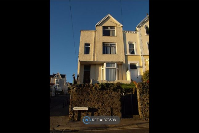 Thumbnail End terrace house to rent in Oaklands Terrace, Swansea