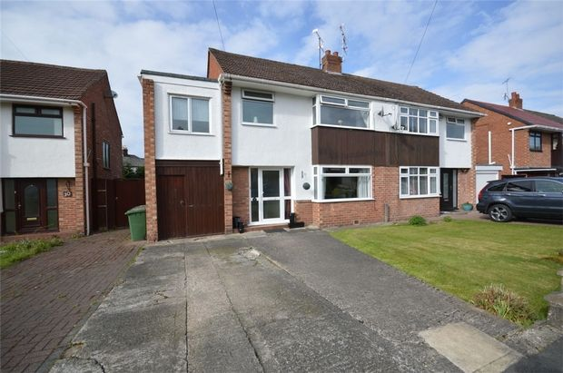 Thumbnail Semi-detached house for sale in Jocelyn Close, Spital, Merseyside