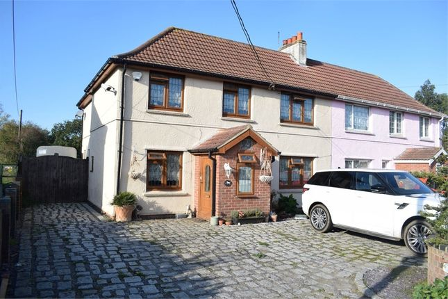 Thumbnail Semi-detached house for sale in Clacton Road, Stones Green, Harwich, Essex