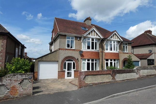 Thumbnail Semi-detached house to rent in Dorset Road, Salisbury, Wiltshire