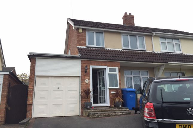 Thumbnail Semi-detached house to rent in Thornfield Cresent, Burntwood